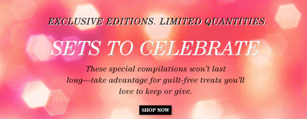 Trish McEvoy Introduces Sets To Celebrate - Exclusive Editions. Limited Quantities