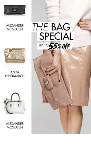 THE BAG SPECIAL - BAGS UP TO 55% OFF