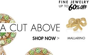 FINE JEWELRY UP TO 60% OFF