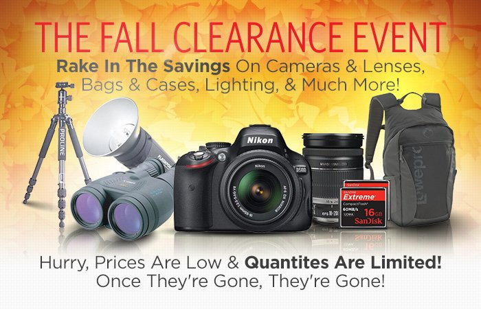 The Fall Clearance Event