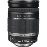 Adorama - Canon EF-S 18-200mm f/3.5-5.6 IS Auto Focus Lens