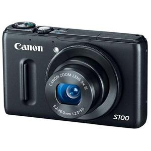 Adorama - Canon PowerShot S100 12.1 Megapixel Digital Camera, 5x Optical Zoom, 24mm Wide Angle Lens