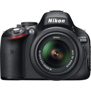 Adorama - Nikon D5100 DX-Format Digital SLR Camera Kit with 18-55mm f/3.5-5.6G AF-S DX (VR) Lens