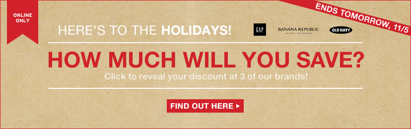 HOW MUCH WILL YOU SAVE? | ENDS TOMORROW, 11/5 | FIND OUT HERE