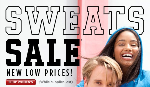 SHOP Women's Sweats Sale
