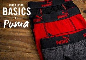 Shop Stock Up on Basics ft. Puma