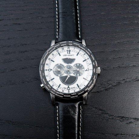 Uhr-Kraft Automatic Big World // White