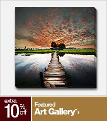 Extra 10% off Featured Art Gallery**