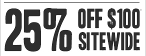 20% off $100 sitewide