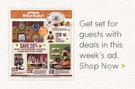 Get set for guests with deals in this week's ad. Shop Now