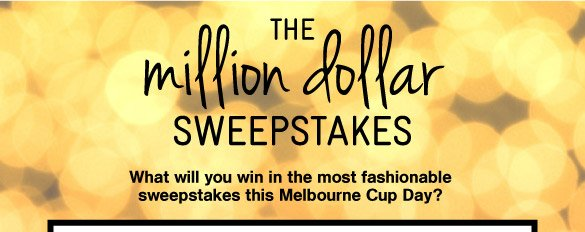 The Million Dollar Giveaway