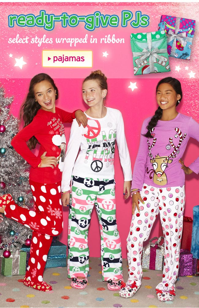 ready-to-give pjs