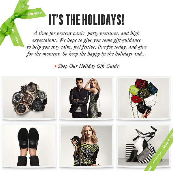 IT'S THE HOLIDAYS! › SHOP OUR HOLIDAY GIFT GUIDE