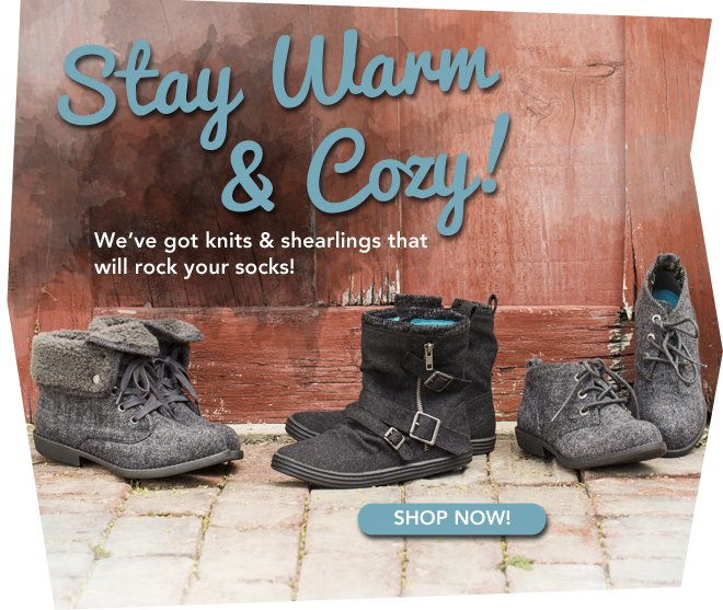 Boots to Keep You Warm are Here!