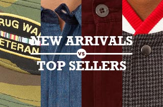 New Arrivals v. Top Sellers