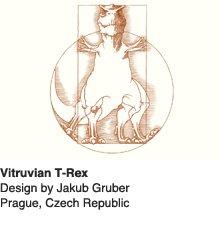 Vitruvian Rex