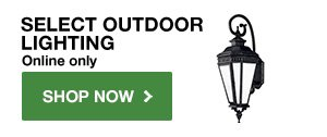 Up to 50% OFF Select Outdoor Lighting