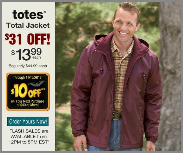 $31 OFF Total Jacket