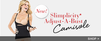 New! Slimplicity® Adjust-A-Bust Camisole. Shop!