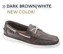 Dockside Dark Brown/White