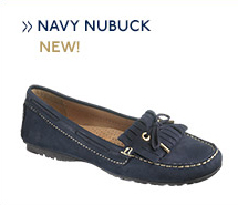 Meriden Kiltie Navy Nubuck