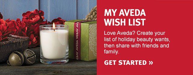 My Aveda Wish List