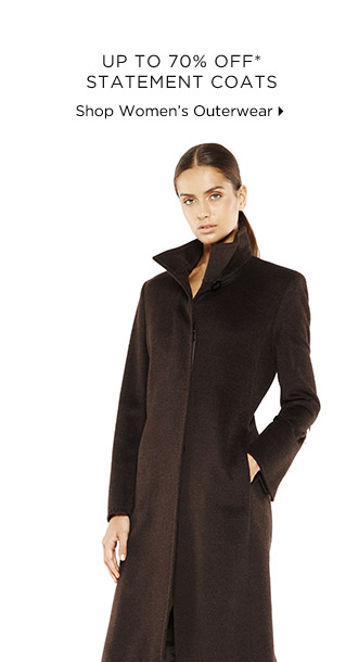 Up To 70% Off* Statement Coats