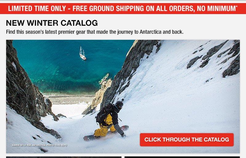 New Winter Catalog