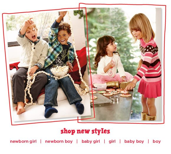 The best time to be a kid. Start the holidays in soft, comfy clothes that kids love- and ones they'll wear and wear. Shop New Styles