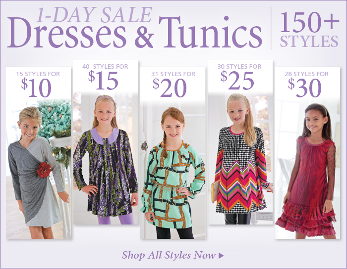 Save on Dresses & Tunics, over 150 styles on sale for under $35