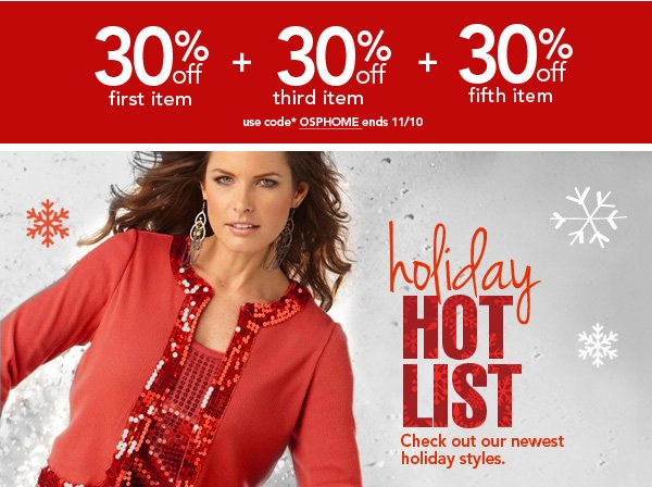 Shop Holiday Hot List