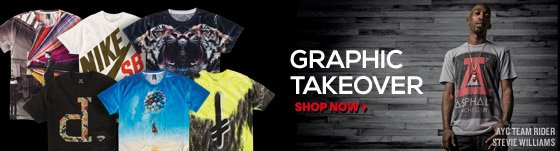 Graphic Takeover: New Graphic Tees