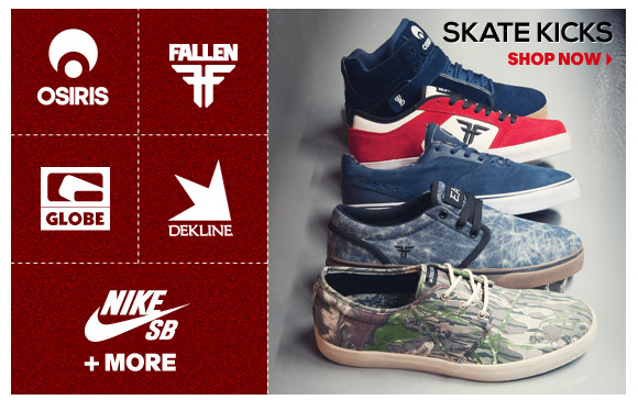 Fresh Skate Kicks