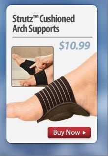 Strutz™ Cushioned Arch Supports