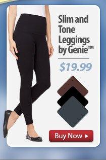 Slim and Tone Leggings by Genie™