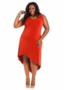 Web Exclusive: Tiered Hi-lo Dress
