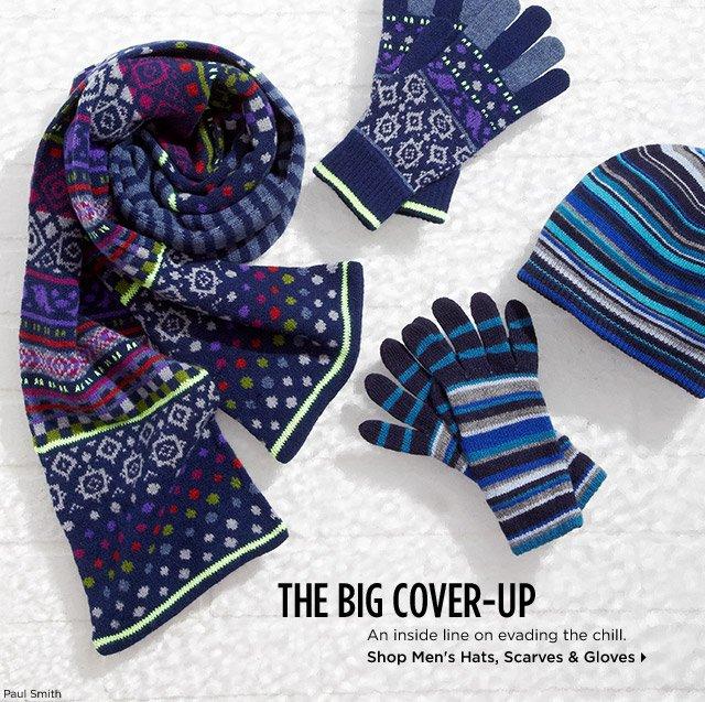 Shop Men's Hats, Scarves & Gloves