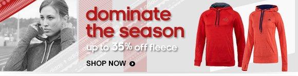 Shop Fleece Up to 35% Off  »