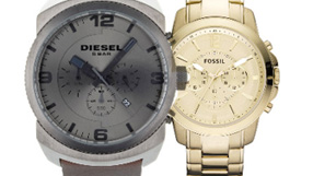 Fossil, Michael Kors, Diesel and Coach