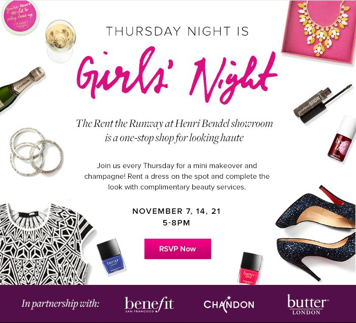 Girls' Night Out - RSVP Now