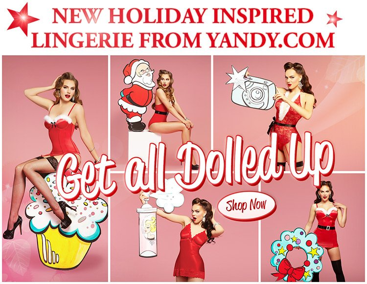 New Holiday Inspired Lingerie