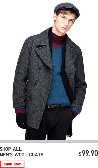 MEN WOOL COAT