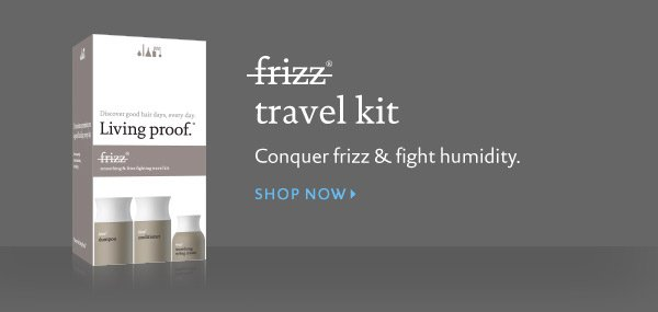 Buy Living Proof No Frizz Travel Kit - Conquer frizz and fight humidity.