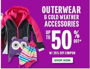Outerwear on sale!