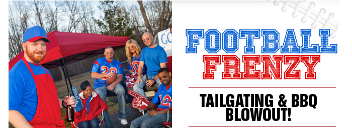 Football Frenzy: Tailgating & BBQ Blowout.