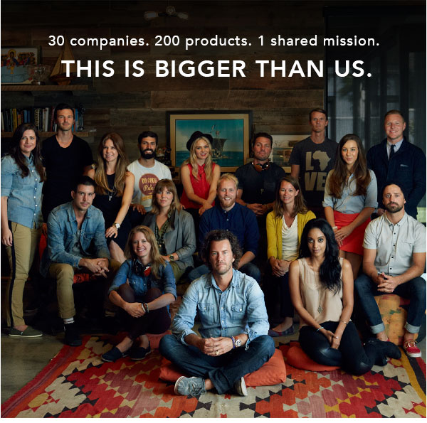 30 companies. 200 products. 1 shared mission. This is bigger than us.