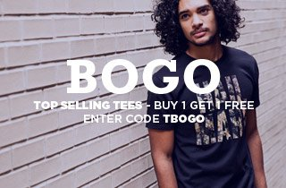 Shop our top selling tees BOGO!
