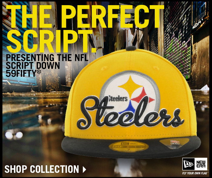 The Perfect Script. Presenting the NFL Script Down 59FIFTY.