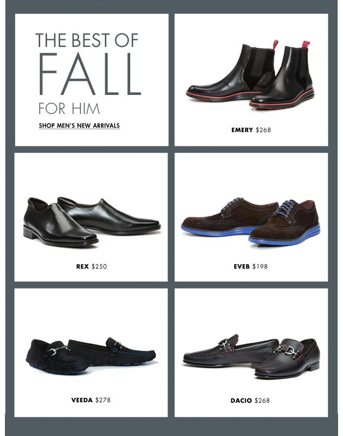 The Best of Fall for Him