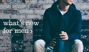 what's new mens